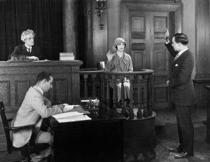 Testify in court